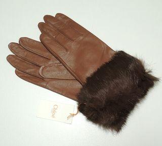 正規品/新品タグ付き クロエ(Chloe)手袋 羊革高級手袋