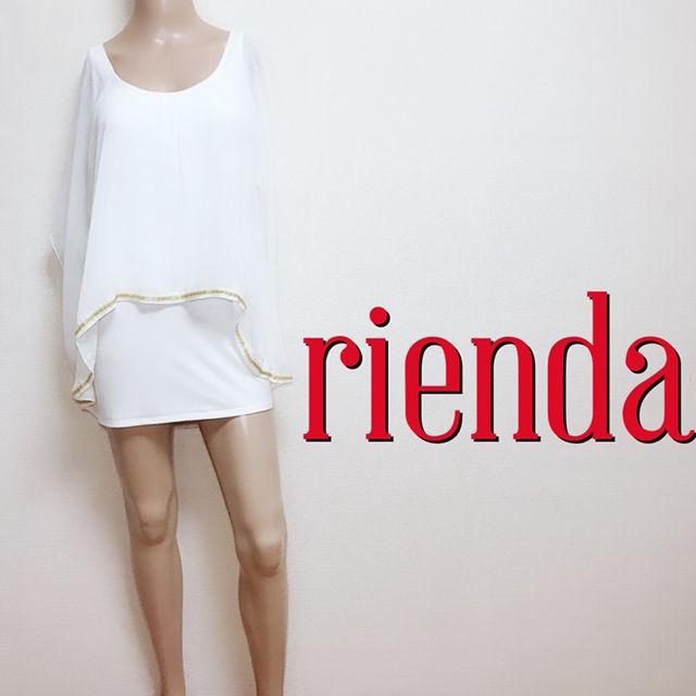 ゆるかわリエンダ やわらかコンビ ワンピース(rienda(リエンダ) ) - フリマアプリ&サイトShoppies[ショッピーズ]
