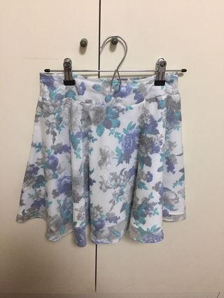 【アラマンダ】花柄スカート
