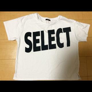 EMODA ロゴ 横スリット ホワイト Tシャツ