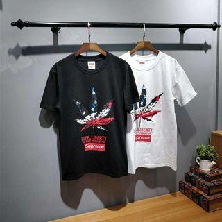SUPREME定番 カジュアル 2色選択 Tシャツ