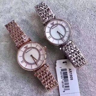 大美品 アルマーニ ウォッチ シャレな腕時計