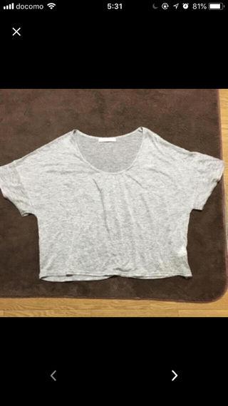 美品!レイカズンのサマーニットTシャツ!