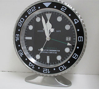 Rolex  GMT置き時計