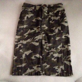 カモフラタイトスカート