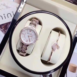 スワロフスキー レディース腕時計 【2点セット】