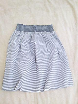 細ストライプスカート
