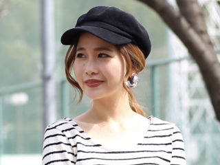 Bou jeloud新品タグ美シルエット帽子
