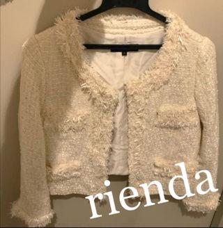 riendaツイードジャケット