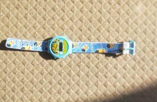 ミニオン おもちゃ時計