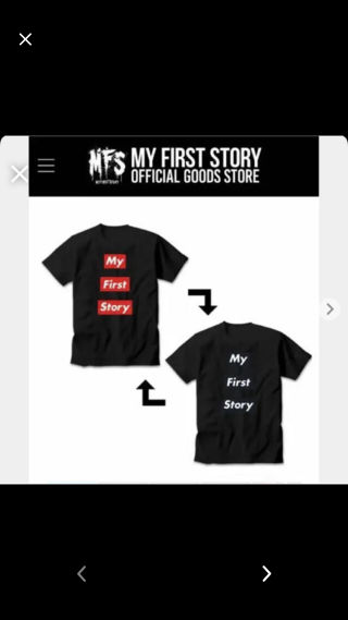 MFS スパンコールチェンジングTシャツ