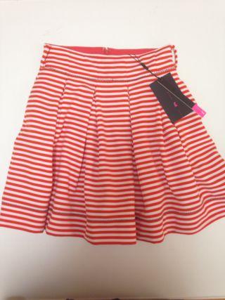 2% tokyo マリンボーダーボリュームスカート