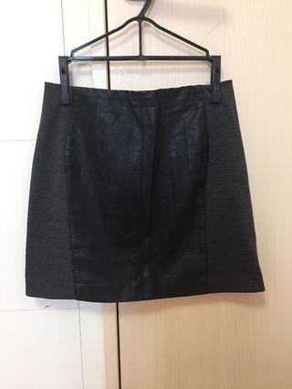 COCO DEAL レザースカート