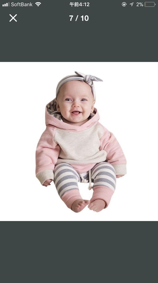 ed9329646e460 Instagramで大人気韓国子供服 セットアップ70~(ノーブランド ) - フリマアプリ サイトShoppies ショッピーズ