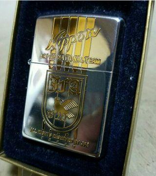 激レア新品94B'Zippoサッカー日本代表JFA公認