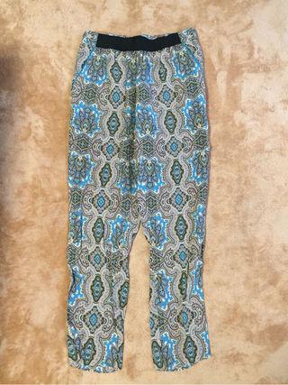 【新品】Planet blue デザイン柄パンツ