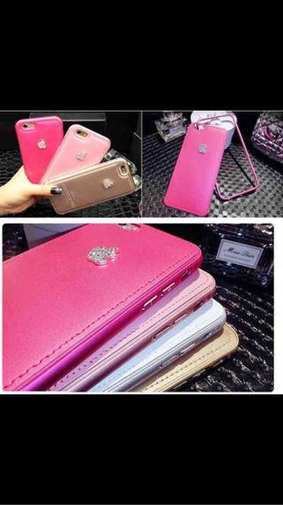 iPhoneケース濃いピンク