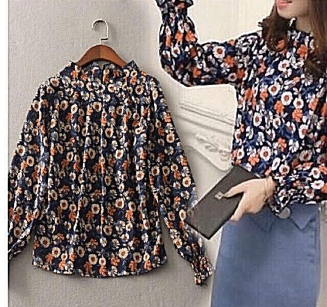 z6  花柄のシャツM - フリマアプリ&サイトShoppies[ショッピーズ]