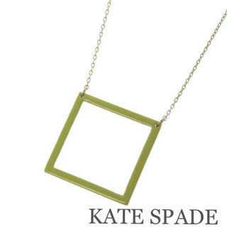 KATE SPADEケイトスペード【美品】スクエアネックレス