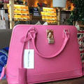 サマンサタバサ ショルダーバッグ 少女時代愛用  濃いピンク