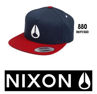 【送料無料!新品!】ニクソン キャップ NIXON  帽子
