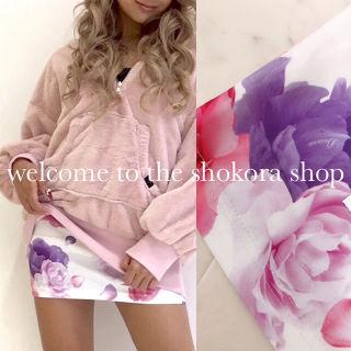 ダチュラ バラ 花柄 スカート