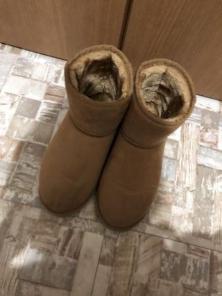 モズ ムートン ブーツ