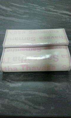 サマンサタバサガマ口2つ折り財布