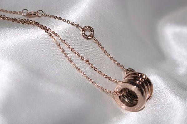innovative design ce2c9 060fc 24551241 【値下げ】ブルガリ ネックレス ピンクゴールド色 ...