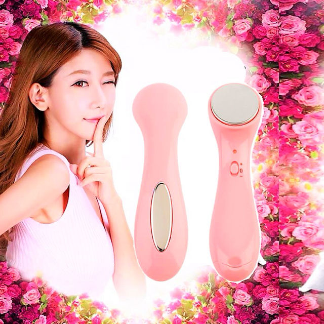 高品質イオン導入 振動 美顔器 美肌 電池式 保湿ケア