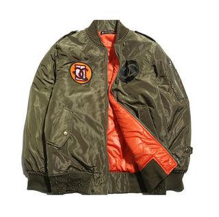 荒木さやかとGD着用モデル  MA-1 ジャケット