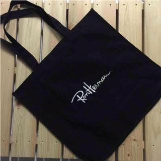ロンハーマン ロゴ刺繍 トートバッグ ブラック 新品