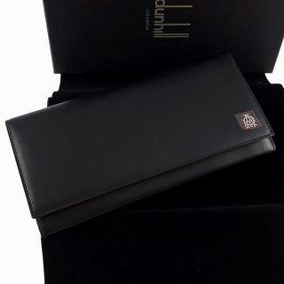 ダンヒル 長財布 ブラック