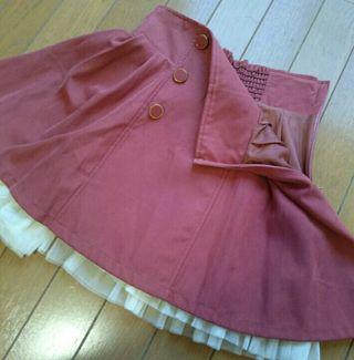 シークレットマジックハイウエストスカート