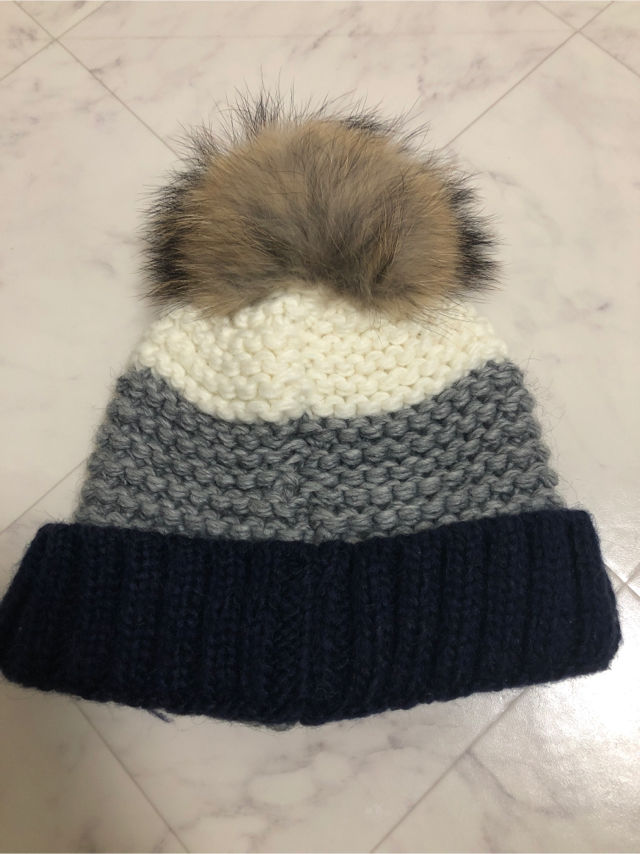 MONCLER風 ニット帽