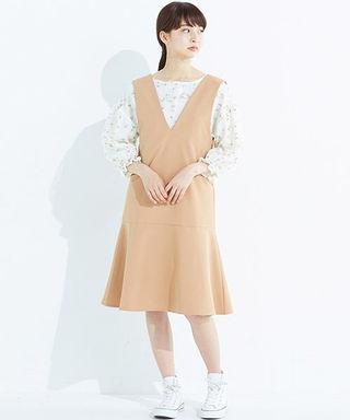 haco! すそフレアージャンパースカート