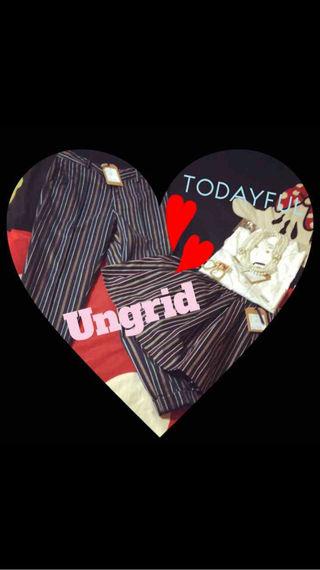 Ungrid&TODAYFUL 4点セット彡.。