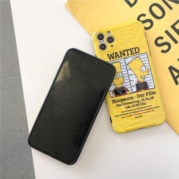 シンプソンズ iPhone11 対応 iPhoneケース