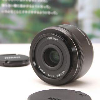 ニコンミラーレス一眼用単焦点レンズ18.5mm F1.8
