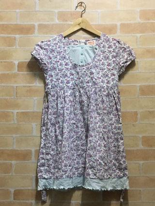 オシュコッシュ 女の子ワンピース 140 花柄 子供服
