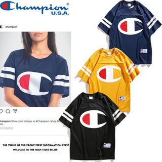 3色選!チャンピオン人気Tシャツ 半袖 男女兼用