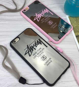 STUSSY iPhone7/8 鏡面ソフトケース