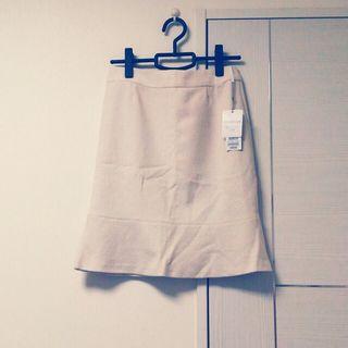 Sunauna ツイード素材スカート