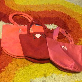 ザボディショップ バッグ ピンク二つ