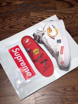 Supreme x NBA x Nike Force AF1