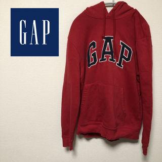 GAP ギャップ フーデッドパーカー ビッグロゴ刺繍