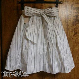 titty&Co.ストライプスカート