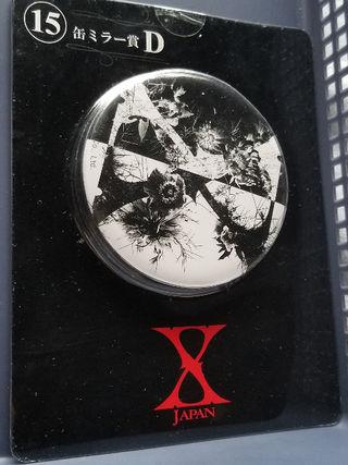 X JAPANくじ⑮缶ミラー賞D