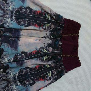 オズアンジェロの宗教画のスカート