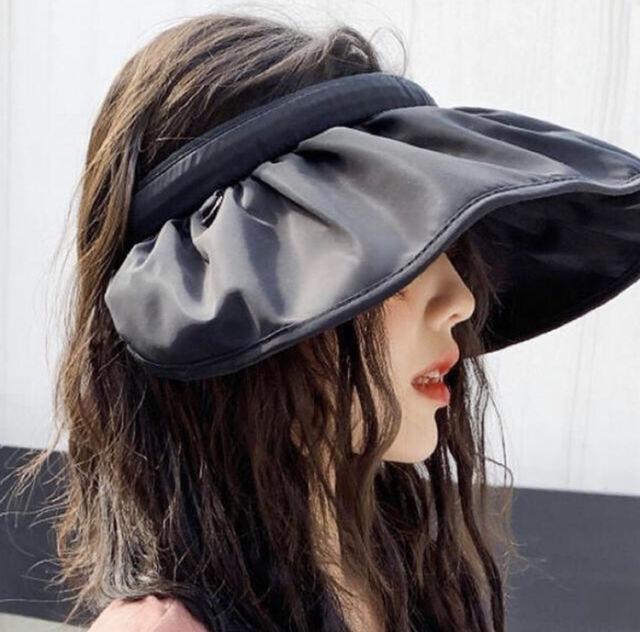 帽子サンバイザー2wayヘアバンド uvカッド